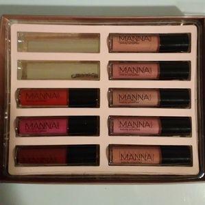 💄8pc Mannakadar priming gloss stain set